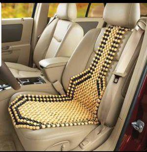 WOOD BEADED CUSHION SEAT - CAR/AUTO/HOME/OFFC for Sale in Phoenix, AZ