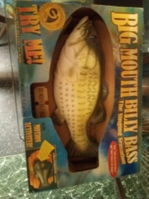 Big Mouth Billy Bass for Sale in Abilene, TX