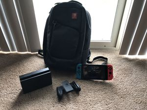 Brand New Nintendo Switch W/ Bookbag & Screen Protector (Games Included) for Sale in Baltimore, MD