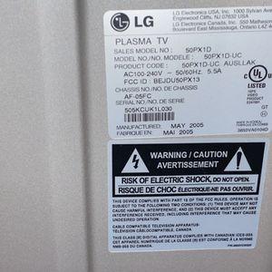 LG Plasma TV 60 Inch for Sale in Naperville, IL