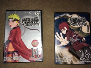Naruto shippuden DVD's for Sale in West Covina, CA