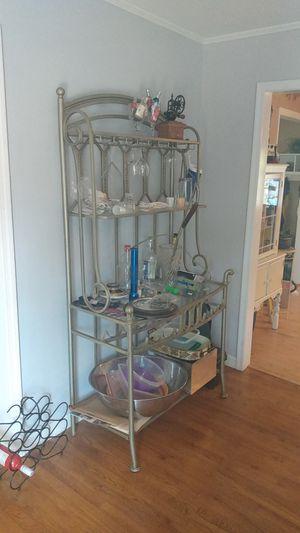 Metal Bakers rack/ Whine rack for Sale in Browns Mills, NJ