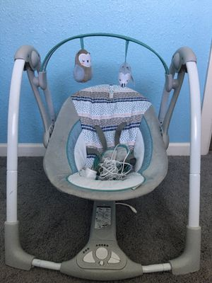 Baby swing for Sale in Hubbard, OR