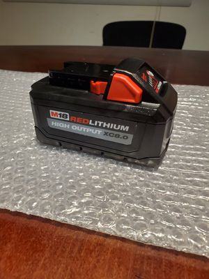 Milwaukee electric tools MLW48-11-1880 M18 Redlithium High output xc8.0 battery for Sale in Gaithersburg, MD
