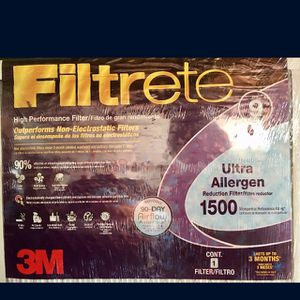 3M Filtrete High Performance Filter (5 pcs) for Sale in Los Angeles, CA