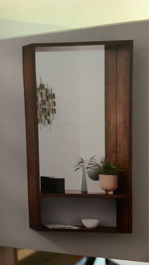 Wall mirror with shelf for Sale in Downey, CA