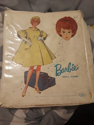 Barbie case 1963 and Barbie clothes for Sale in Huntsville, TX