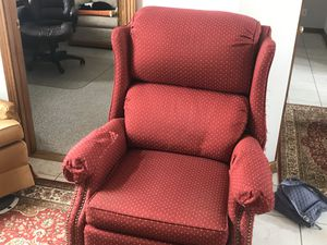 Red recliner for Sale in Buffalo, NY
