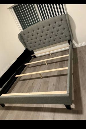 Eastern King Bed Frame Only for Sale in Perris, CA