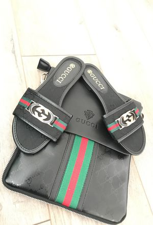 Gucci bag with matching sandals for Sale in West Palm Beach, FL