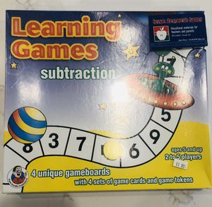Subtraction Game Board for Sale in Irvine, CA