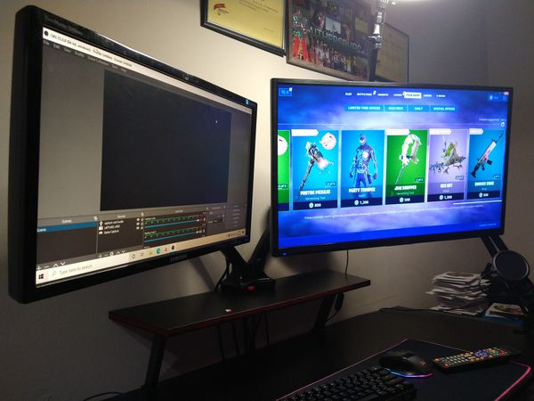 Monitor PC and tv game System