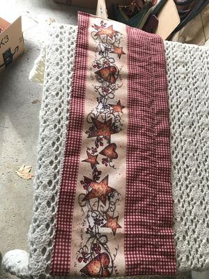 Primitive Country Kitchen Valance for Sale in Townsend, MA