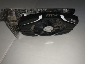 MSI GAMING GeForce GTX 1060 6GB GDRR5 for Sale in Winchester, CA