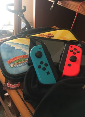 NINTENDO SWITCH + CASE PRELOADED WITH NARUTO ULTIMATE NINJA STORM TRILOGY for Sale in Miami, FL