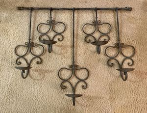Large Hanging Wall Art Candle Holder for Sale in Vienna, VA