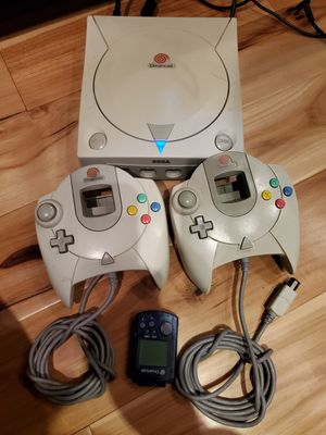 Dreamcast with gdemu 128gb card, tons of games and for Sale in Bellevue, WA