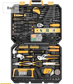 Brand new 168 Piece Socket Wrench Auto Repair Tool Combination Package Mixed Tool Set Hand Tool Kit with Plastic Toolbox Storage Case for Sale in Nashville, TN