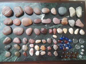 Collection of Rocks and Glass Beads for Sale in Modesto, CA