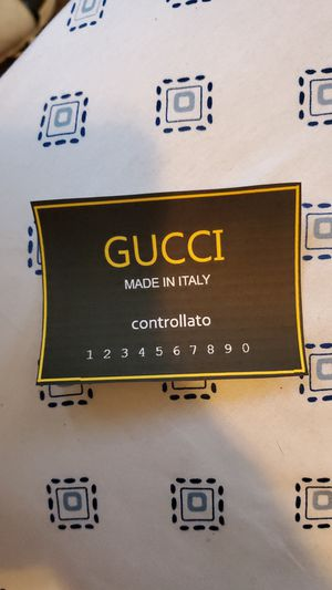 Gucci's Signature High Black Reds handmade in Italy for Sale in Cincinnati, OH