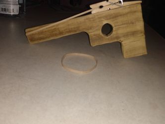 Rubber band Gun Homemade 5$ To 10$ for Sale in Georgetown,  TX