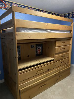 Wood Trundle for kids in excellent condition for $550OBO!!! for Sale in Ontario, CA