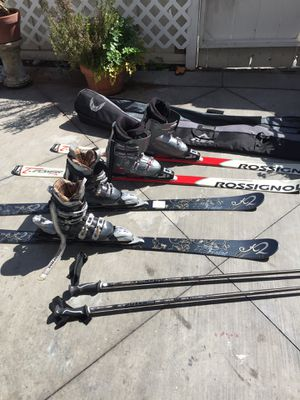 Send of Skier set of ski for Sale in Dana Point, CA