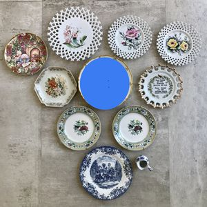 Selling all my antique and vintage plates. for Sale in Newport Beach, CA