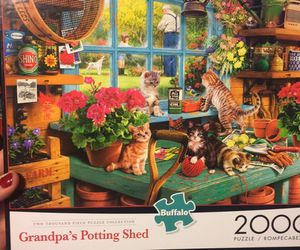 """2,000 piece puzzle """"Grandpa's Potting Shed"""" for Sale in Mesa, AZ"""