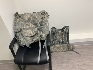 Used Army ASSAULT BACKPACK for Sale in Winter Hill, MA