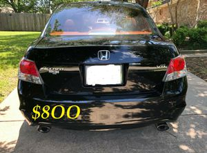 🍁🔥$8OO URGENT I sell my family car 2OO9 Honda Accord Sedan V6 EX-L 𝓹𝓸𝔀𝓮𝓻 𝓢𝓽𝓪𝓻𝓽 Runs and drives very smooth !🍁🔥 for Sale in Raleigh, NC
