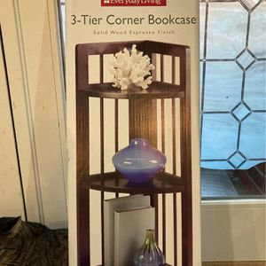 Brand New Corner Bookcase In Box for Sale in Beaverton, OR