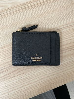 kate spade cardholder with zipper for Sale in Boston, MA