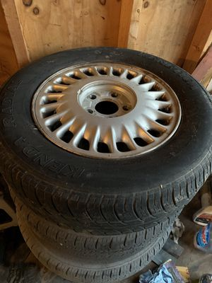 Buick wheels and tires for Sale in Fayetteville, AR