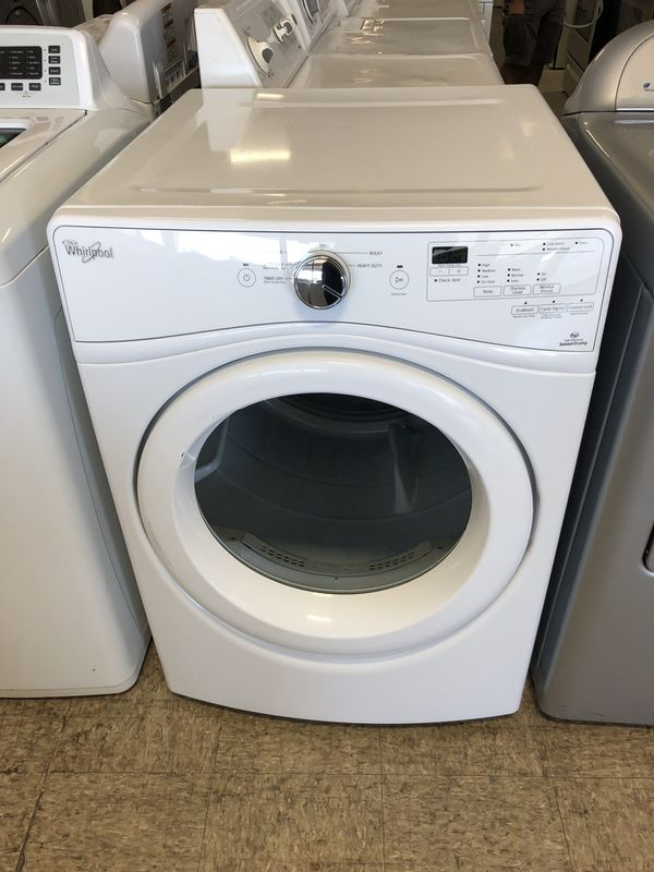 """27"""" WHIRLPOOL STACK ABLE FRONT LOAD DRYER WITH WARRANTY"""