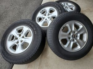 Wheels for any jeep size 17 for Sale in Woodbridge, VA