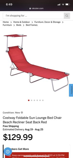 beach recliner for Sale in Commerce, CA