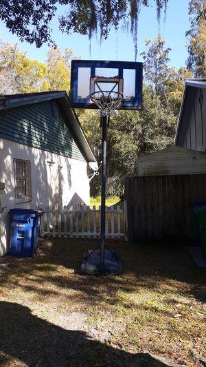 Lifetime basketball hoop for Sale in TEMPLE TERR, FL