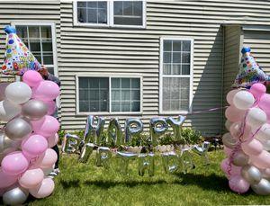 Birthday balloon columns for Sale in Elgin, IL