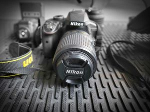 Nikon D3300 with 2 lenses and a flash - OBNU for Sale in El Mirage, AZ