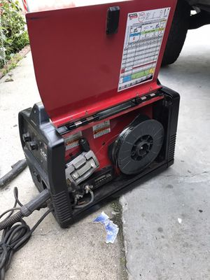 Lincoln 140c power mig welder 110v in good condition for Sale in Torrance, CA