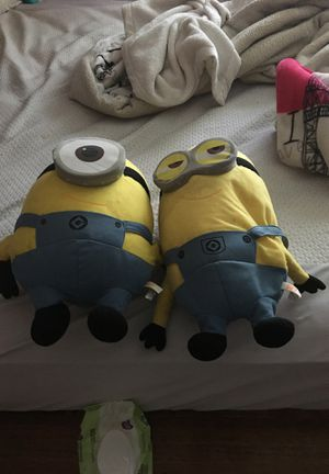 Minions plushies for Sale in Duncanville, TX