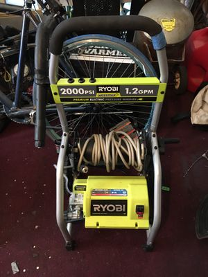Ryobi electric pressure washer $70.00 for Sale in Cleveland, OH