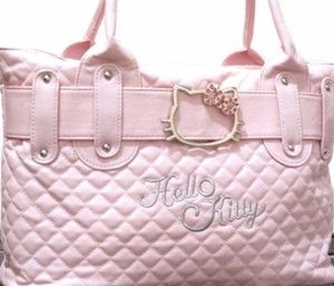 Hello Kitty Quilted Faux Leather Shoulder bag NEW for Sale in Los Angeles, CA