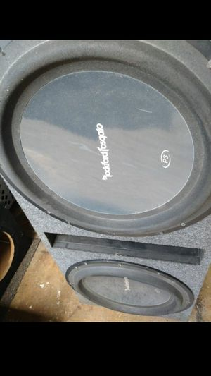 "Rockford Fosgate 15"" Punch P3 Series for Sale in Indianapolis, IN"