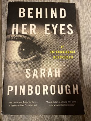 Behind Her Eyes Book for Sale in Red Oak, TX
