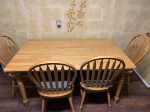Dining set table and chairs for Sale in Rockville, MD