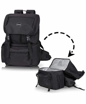 Large Insulated Shoulder Cooler Backpack Outdoors Black for Sale in Anaheim, CA
