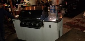 I have a bbq island with grill... and 2 stainless steel doors that I never got around to add to the island for a project. Yes I used it a few times. for Sale in La Puente, CA