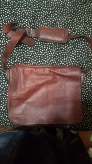 Vintage 1960s era Leather Messenger Bag for Sale in Phoenix, AZ